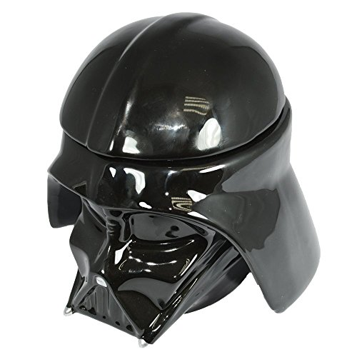 Star Wars Ceramic Cookie Jar, Darth Vader Black SWRR-9510