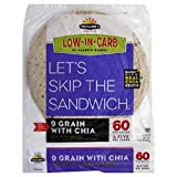 TUMAROS 9 Grain with Chia, 8 Count (Pack of 6)