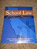 School Law : A California Perspective, Townley, 0787286753