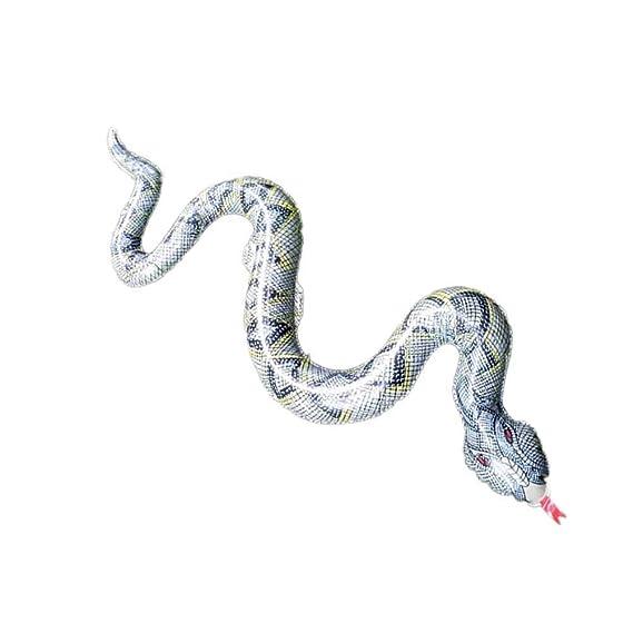 Sky-Grow Juguete Inflable de Serpiente con Forma de ...
