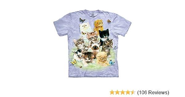 2feef0f1 Amazon.com: The Mountain Kids Ten Kittens T-Shirt: Clothing