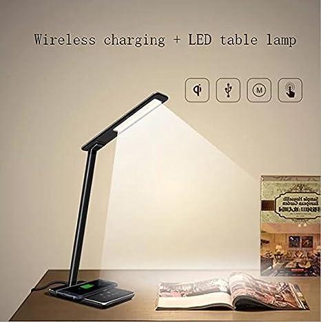 Carl Artbay QI Cargador inalámbrico LED Eye lámpara de escritorio ...