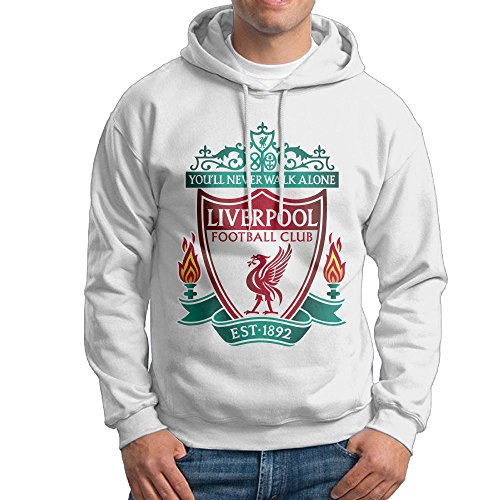 Liverpool F.C. Nathaniel Clyne Danny Ings College Pullover Men's White