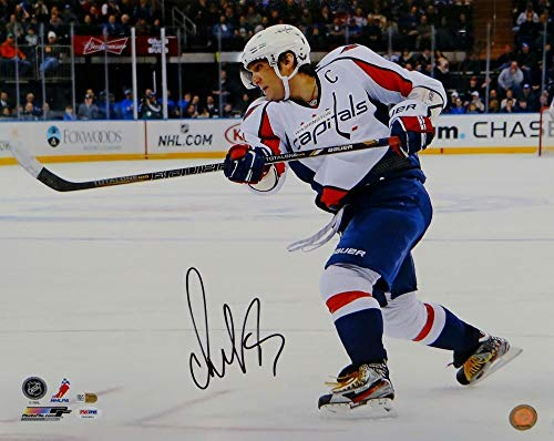 Alexander Ovechkin Autographed Signed Capitals 16x20 Horizontal On Ice Photo- PSA/DNA Authentic Auth