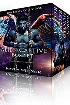 Alien Captive Box Set: Alien Shapeshifter Romance (Qui Treaty Collection Book 8) by [Stonor, Kayla]