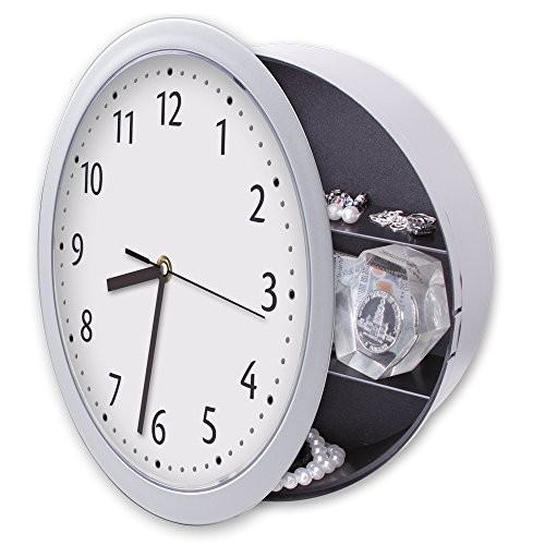 Hidden Diversion Safe Real Working Wall Clock