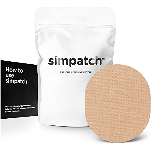 Set Freestyle (SIMPATCH Adhesive Patch for Enlite, Guardian, FreeStyle Libre - Pack of 25 - Available in 4 Colors (Tan))
