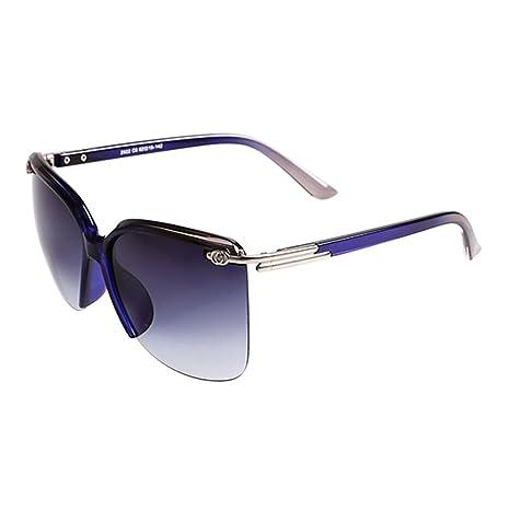 a79f6ed7ff WYYY gafas de sol Gafas Gafas De Conducción Sra. Medio Marco Gradiente  Clásico Retro Luz