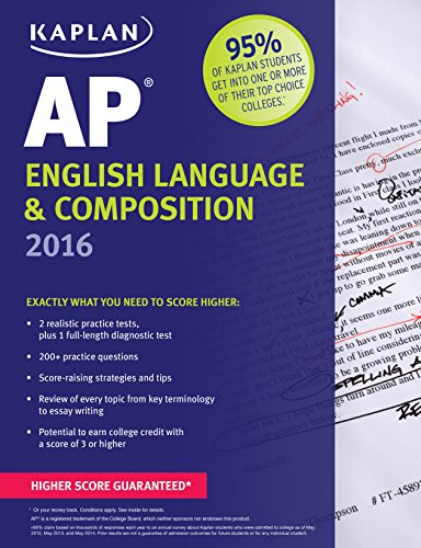 Kaplan AP English Language & Composition 2016 (Kaplan Test Prep) -  Denise Pivarnik-Nova, Teacher's Edition, Paperback