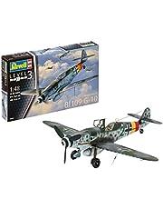 Revell 03958 10 Modellbausatz Messerschmitt Bf109 G-10 im Maßstab 1:48, Level 3