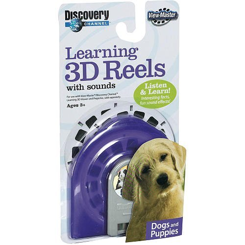 Learning 3d Reels - View-Master Discovery Learning 3D Reels with Sound: Dogs & Puppies