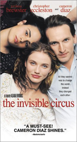Invisible Circus [VHS] -  VHS Tape, Rated R, Adam Brooks