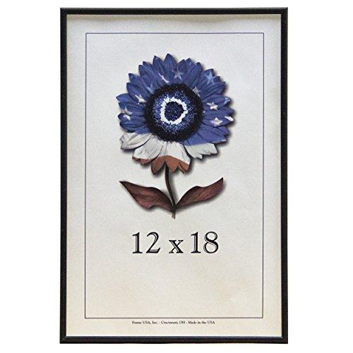 12x18 Matte Black Metal Picture frame