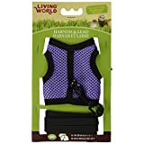 Living World 60866 Medium Harness and Lead Set, Assorted Colors