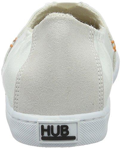 Hub Damen Fuji C06 Espadrilles Weiß (White)