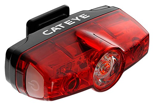 CatEye CA475RAPMIN Rapid Mini Rear Lights and Reflectors, Cycling ,Black