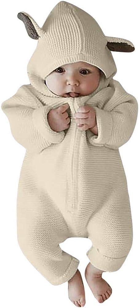Monos Bebe, Recién Nacido bebé niña niño Historieta 3D Mameluco del oído Monos Ropa de Invierno cálido Bodies Monos Peleles Ropa Bebes: Amazon.es: Ropa y accesorios
