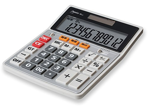 Asuka (Asmix) business calculator especially L tax rate constant display C1233 by ASUKA