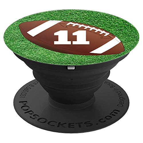 Football Number #11 - PopSockets Grip and Stand for Phones and Tablets
