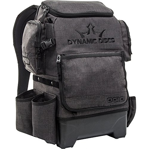 Dynamic Discs Ranger H2O Backpack Disc Golf Bag - Includes Fully Integrated 2 Liter Water Bladder System (Heathered Gray)