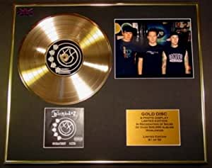 BLINK 182/CD Disco de Oro/Disco & Foto Display/Edicion LTD/Certificato di autenticità/GREATEST HITS