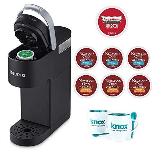 Keurig K-Mini Single Serve K-Cup Pod Coffee Maker, Black Includes 12 K-Cups and 2 Mugs