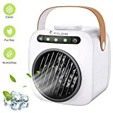 Portable Air Conditioner USB 3 in 1 Evaporative Air Cooler Humidifier,Purifier Mini Cooling