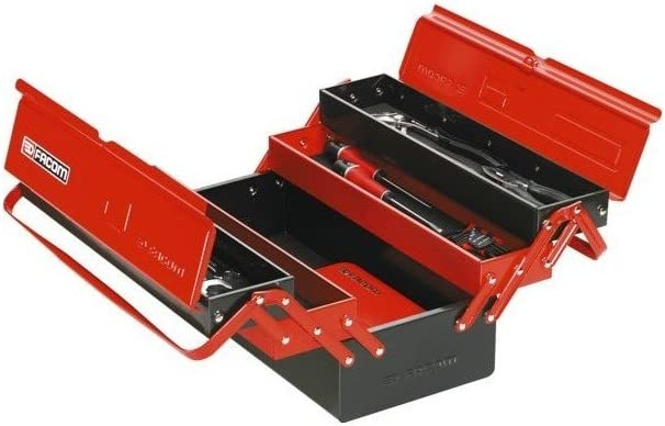 Facom BT13GPB_23915 - Caja de herramientas (5 compartimentos, gran volumen): Amazon.es: Bricolaje y herramientas