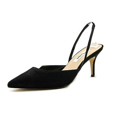 Nina Tracey Women US 9 Black Slingback Heel