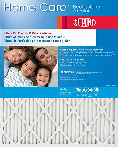 Dupont Home Care 16x25x1 MERV 8 Air Filters (4 Pack)