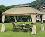 Sunjoy Replacement Canopy Set for 10x13ft Domed Gazebo