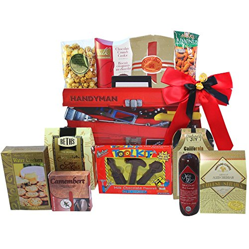 Handyman's Toolbox of Snacks and Treats Gift (Handyman Snacks)