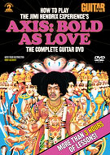 DVD : Andy Aledort - How To Play Hendrix Experience's Axis: Bold Love (DVD)