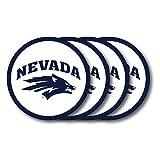 NCAA Nevada Reno Wolf Pack Vinyl Coaster Set