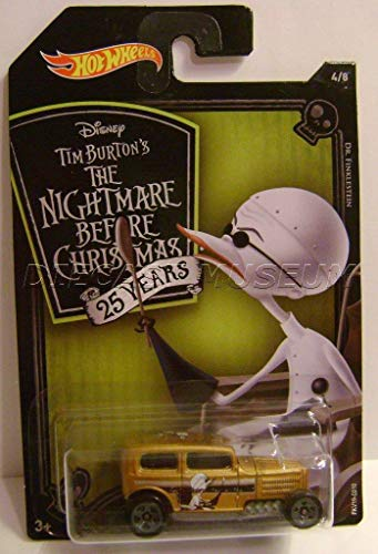- Brand Name Midnight OTTO DR. FINKLESTEIN Nightmare Before Christmas HOT Wheels DIECAST 2018