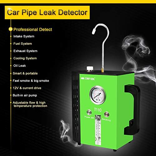 T110 12V Automotive Fuel Leak Detectors Cars Leak Locator Tester Car Fuel Leak Detectors Car Pipe Leakage Tester Support EVAP for All Vehicles by T110 (Image #2)