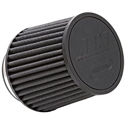 AEM 21-205BF Universal DryFlow Clamp-On Air Filter: Round Tapered; 4 in (102 mm) Flange ID; 5.25 in (133 mm) Height; 6 in (152 mm) Base; 5.125 in (130 mm) Top: Automotive