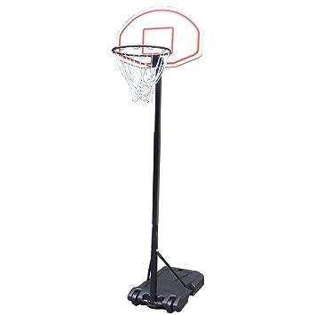 Amazon.com: Hommoo - Canasta de baloncesto con ruedas para ...