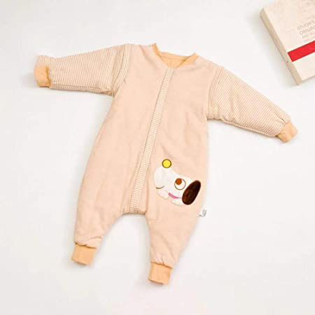 Saco de Dormir de Algodón Unisex para Bebés,Patas de algodón de colores, saco de dormir para bebés, mangas desmontables, anti-kick-100 engrosado,Manta de Invierno para Bebé Recién Nacido Manta Envol: Amazon.es: Hogar