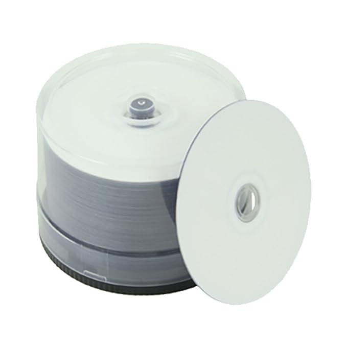 Taiyo Yuden watershield Glossy White Inkjet Hub 16 x DVD-R 100-pak ...