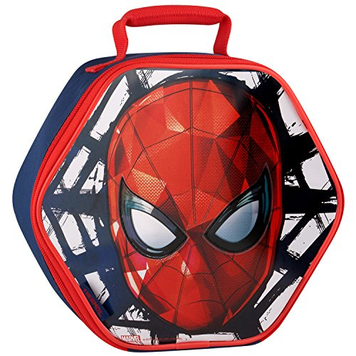 Spider Man Lunch (Thermos Novelty Lunch Kit, Spiderman Head)