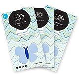 profumatore deodorante per auto da inserire nelle bocchette di areazione fragranza Silver Water 3pz Marta La Farfalla