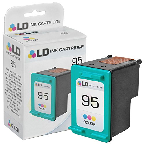 LD Products Remanufactured Tri-Color Ink Cartridge for HP 95