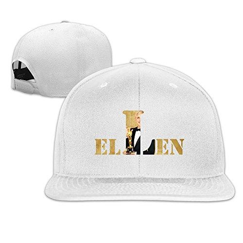 LKSJSADJ ELLEN Variety Show Cup Baseball Caps White