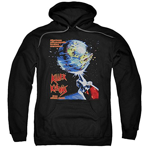 Hoodie: Killer Klowns From Outer Space- Alien Bozos Poster Pullover Hoodie Size XXXL]()