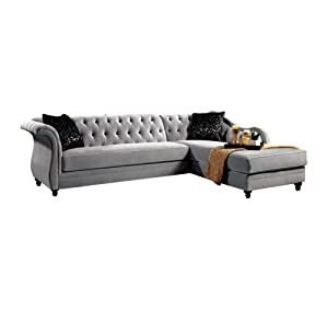 Afydecor Five Seater Sectional Sofa (Off-White)