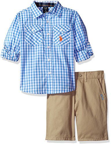 Gingham Boy Short - 7