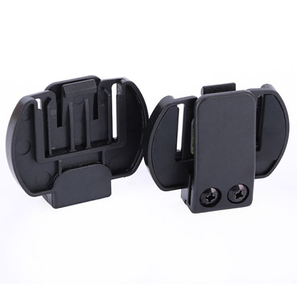 1 pcs Mounting Brackets for 3Riders/4Riders/6Riders Bluetooth Interphone, motorcycle intercom clip