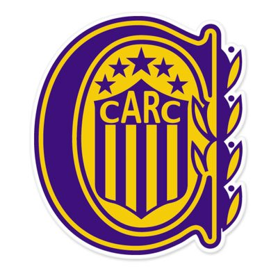 CA Rosario Central - Argentina Football Soccer Futbol - Car Sticker - 5""