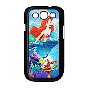 Cartoon The Little Mermaid Back Cover Case Suitable for Samsung Galaxy S3 I9300 JNS3-1550